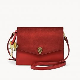 Fossil ZB7874646 Stevie Small Crossbody Red Handbag