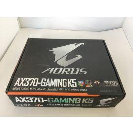 GIGABYTE AORUS GA-AX370-Gaming Motherboards K5 (AMD Ryzen AM4/ X370/ RGB Fusion / Smart Fan (Broken)