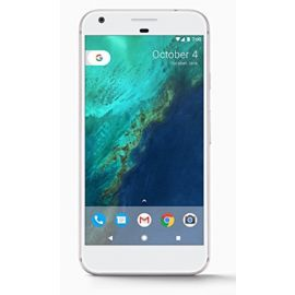 Google Pixel XL Phone 128GB - 5.5 inch display ( Factory Unlocked US Version ) (Very Silver)