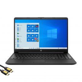HP 15.6'' FHD Micro-Edge Slim Laptop, Intel Celeron N4020, 16GB DDR4 RAM, 1TB SSD, USB-C, HDMI, RJ-45, Wi-Fi, Webcam, Fast Charge, SD Reader, Mytrix HDMI Cable, Win 10