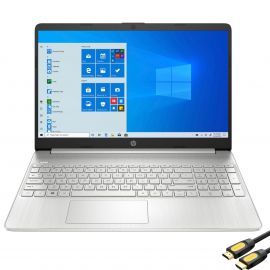 """HP 15.6"""" FHD Micro-Edge Touchscreen Laptop, AMD 8-Core Ryzen 7 4700U up to 4.1GHz, 8GB RAM, 128GB PCIe SSD, USB-C, Webcam, Wi-Fi, Fingerprint Reader, HDMI, Number Pad, Mytrix HDMI Cable, Win 10"""