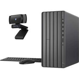 HP ENVY Gaming Desktop PC, Intel Hexa-Core i7-10700F, GeForce GTX 1660 Super 6GB, 16GB DDR4 RAM, 256GB SSD+2TB HDD,USB-C, DVD, RJ45, DP/HDMI/DVI, Mytrix Webcam, Win 10 w/keyboard and mouse