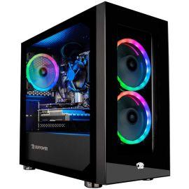 iBUYPOWER Desktop Gaming PC AMD Ryzen 3 3100 Up To 3.9GHz Radeon RX 550 2GB Up To 32GB DDR4 RAM 1TB SSD+1TB HDD