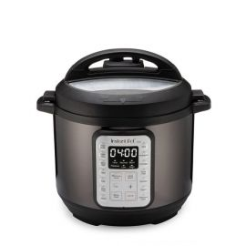 Instant Pot Black Stainless 6-Quart 9-in-1 Multi-Use Programmable Pressure Cooker