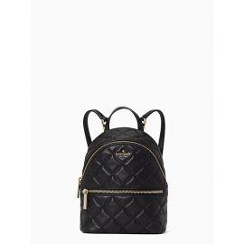 Kate Spade WKRU7075 natalia mini convertible backpack in black