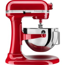 KitchenAid Pro 5 Plus 5 Quart Bowl-Lift Stand Mixer, Red, with Pasta Roller & Cutter Attachment (Used Like New)