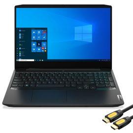 "Lenovo IdeaPad Gaming Laptop, 15.6"" 120Hz FHD IPS, Ryzen 7 4800H 8-Core, GeForce GTX 1650Ti, 16GB RAM, 512GB SSD+2TB HDD, Ethernet, Backlit KB, KeyPad, USB-C, Mytrix HDMI Cable, Win 10"