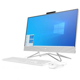 "Manufacturer Refurbished HP 23.8"" Touchscreen All-in-One Desktop - AMD Ryzen 3 4300U - 1080p"