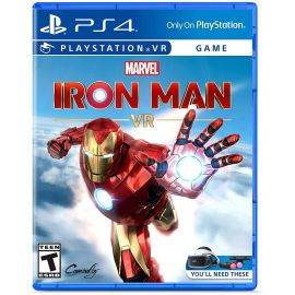 Marvel's Iron Man VR Game Disc - PlayStation 4