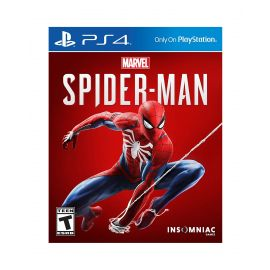 Marvel's Spider-Man fo Playstation 4 (game disc)