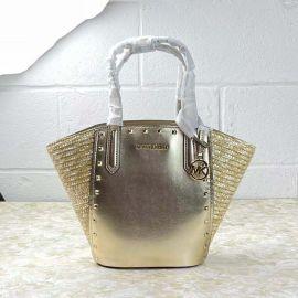 Michael Kors 35T1GPAT1M Portia Small Bucket Bag Pale Gold
