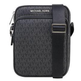 Michael Kors Jet Set Travel 35H9GTVC1B Medium Flight Bag Crossbody In Black