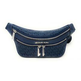 Michael Kors Kenly 35T0SY9N1B Small Waist Pack Crossbody Bag In Admiral