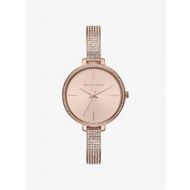 MICHAEL KORS MK3785 Jaryn Pavé Rose Gold-Tone Watch