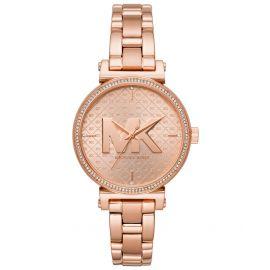 Michael Kors MK4335 Women's Sofie Three-Hand Rose Gold-Tone Stainless Steel Watch