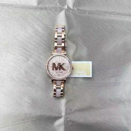 Michael Kors MK4336 Women's Sofie Three-Hand Rose Gold-Tone Stainless Steel Watch