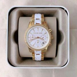 Michael Kors MK6939 Ritz Chronograph Gold-Tone Stainless Steel Watch