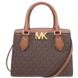 Michael Kors Mott 35T0GOXM2B Medium Messenger Bag In Brown