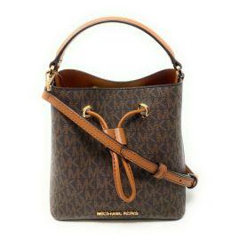 Michael Kors Suri 35T0GU2C0B Small Bucket Crossbody Bag In Brown