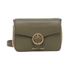 Michael Kors Wanda 35T0GW5C1L Small Leather Crossbody Bag In Duffle
