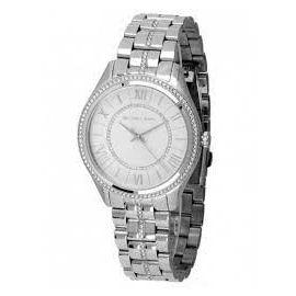 Michael Kors Women's Lauryn MK3718 Silver Stainless-Steel Japanese Quartz Fashion Watch