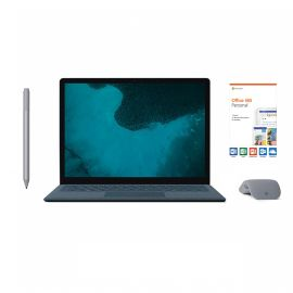 "Microsoft Renewed Surface Laptop 2 Cobalt Blue 13.5"" Touchscreen PC, Core i5, 8GB RAM, 256GB SSD, Win 10 w/Platinum Surface Pen, Arc Mouse, Office 365 Personal"