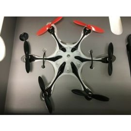 Mini X6 6 Axis Gyro Drone Flight Remote Control 2.4Ghz with HD Camera 6 Motors ( Used Like New )