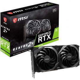 MSI Gaming GeForce RTX 3070 8GB GDRR6 256-Bit HDMI/DP TORX Fan 3.0 Ampere Architecture OC Graphics Card (RTX 3070 Ventus 2X OC)
