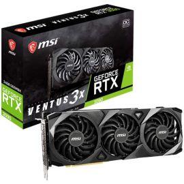MSI Gaming GeForce RTX 3090 24GB GDRR6X 384-Bit HDMI/DP Nvlink Torx Fan 3 Ampere Architecture OC Graphics Card (RTX 3090 Ventus 3X 24G OC)