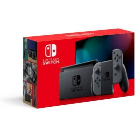 New Nintendo Switch with Different Controllers and Popular Games