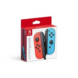 Nintendo Switch - Joy-Con (L/R)-Neon Red/Neon Blue (Used like new)