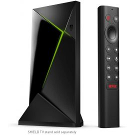 NVIDIA - SHIELD Android TV Pro - 16GB - 4K HDR Streaming Media Player with Google Assistant - Black (Used Like New)
