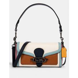 NWT Coach 2730 Multi Colorblock Jade Shoulder Bag In Chalk Multi