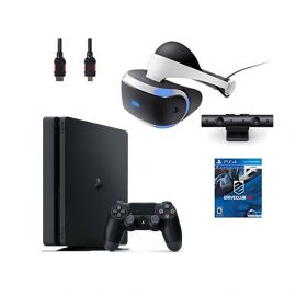 PlayStation VR Bundle 4 Items:VR Headset,Playstation Camera,PlayStation 4,VR Game Disc:PSVR DriveClub