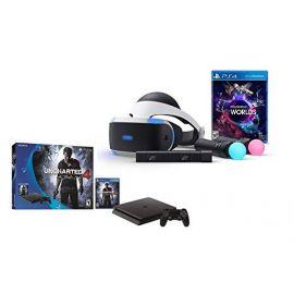 PlayStation VR Launch Bundle 2 Items:VR Launch Bundle,PlayStation 4 Slim 500GB Console - Uncharted 4