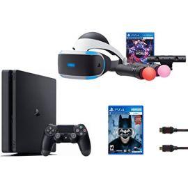 PlayStation VR Launch Bundle 3 Items:VR Launch Bundle,PlayStation 4 Slim 1TB, VR Game Disc Arkham VR