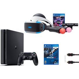 PlayStation VR Launch Bundle 3 Items:VR Launch Bundle,PlayStation 4 Slim 1TB, VR Game Disc PSVR DriveClub