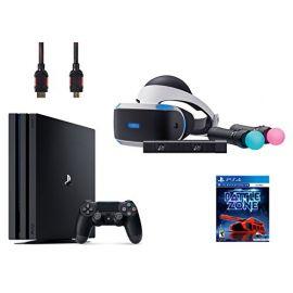 PlayStation VR Start Bundle 5 Items:VR Headset,Move Controller,PlayStation Camera Motion Sensor,PlayStation 4 Pro 1TB,VR Game Disc: PSVR Battlezone