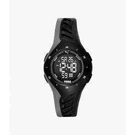 PUMA P6011 Digital Black Polyurethane Watch