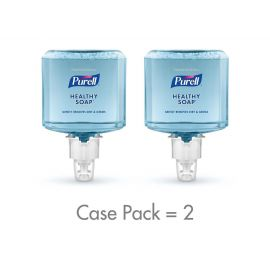 Purell ES4 Push-Style Soap Dispenser Professional Healthy Soap Hand Soap Refill, 1200 mL, 2 Per