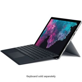 "Refurbished Microsoft Surface Pro 6 12.3"" (2736 x 1824) Touchscreen 2 in 1 Tablet, Intel Core i7, 8GB RAM, 256GB SSD, Win 10 Home, Bluetootch, Webcam"