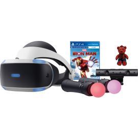 Sony Interactive Entertainment - PlayStation VR Marvel's Iron Man VR + COACH 2751 Marvel Spider Man Collectable Bear Bag Charm In Bluejay/Red Bundle