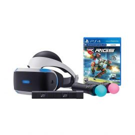 Sony PlayStation VR Combat League Starter Bundle 4 items: VR,motion, camera and vr game disc- RIGS Mechanized Combat League
