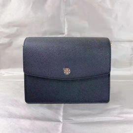 Tory Burch 61450 1119 EMERSON Envelope Adjustable Shoulder Bag Black