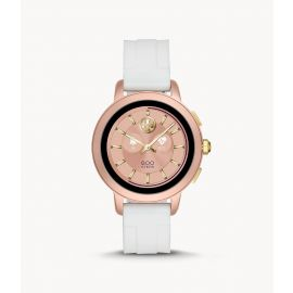 Tory Burch TBT1001 Touchscreen Smartwatch–Ivory Silicone
