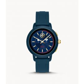 Tory Burch TBT1002 Touchscreen Smartwatch–Navy Silicone