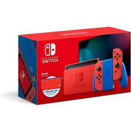 Used Acceptable Nintendo Switch - Mario Red & Blue Edition - Switch