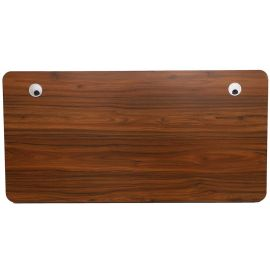 Used Capon Canyon Walnut Desktop for Adjustable Electric Desk Top, 55'' x 27.6'' (1.4m*0.7m) (Board Only)