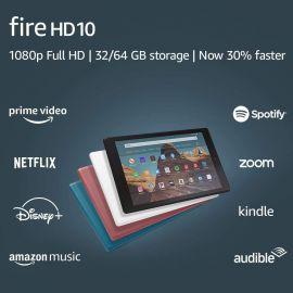 """Used Fire HD 10 Tablet (10.1"""" 1080p full HD display, 32 GB) – Black"""