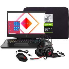 Used HP 15 FHD Gaming Laptop, Intel Core i7-10750H, NVIDIA GeForce GTX 1660 Ti 6GB, 8GB RAM, 1TB HDD + 256GB SSD, Win 10